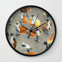 Ula space Wall Clock