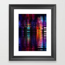 relfection b Framed Art Print