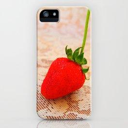 sweety strawberry! iPhone Case