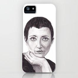 Helene Cixous iPhone Case