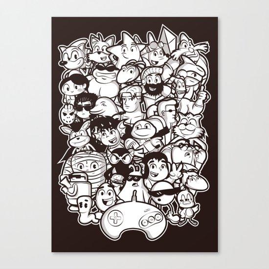 Mega 16 Bit Canvas Print