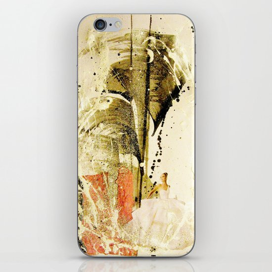 lady in white iPhone & iPod Skin