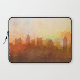 Atlanta, Georgia Skyline - In the Clouds Laptop Sleeve