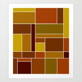 Abstract #488 Art Print