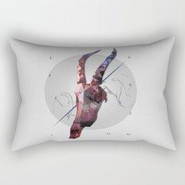 Expression of life Rectangular Pillow