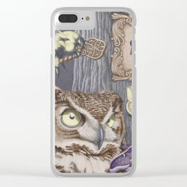 Keepers of Forbidden Knowledge Clear iPhone Case
