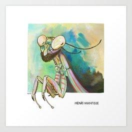 Henri Mantisse Art Print