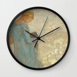 Odilon Redon - Pandora Wall Clock