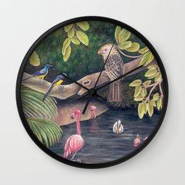 Wetlands Wall Clock