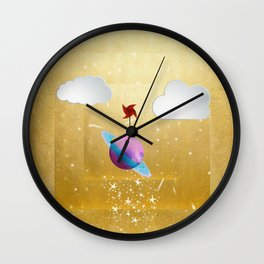 Saturna Wall Clock