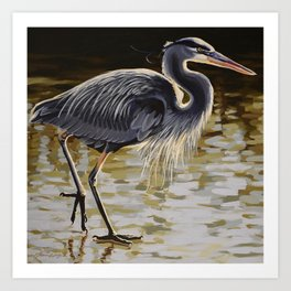 Great Blue Heron 3 Art Print