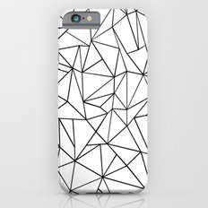 Abstract Outline Black on White iPhone 6s Slim Case