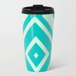 Blue Diamonds Travel Mug