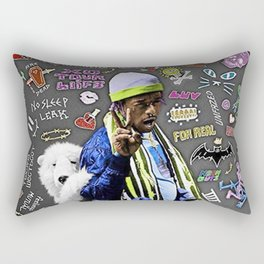 Lil Uzi Luv is Rage Rectangular Pillow