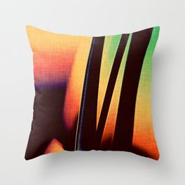 Sunset In Dubuque Throw Pillow