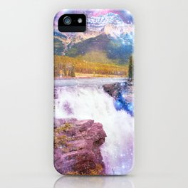 Waterfall and Mountain iPhone Case