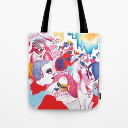 Existential crisis at your house party Tote Bag