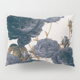 blue flowers Pillow Sham