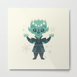 Night King Metal Print