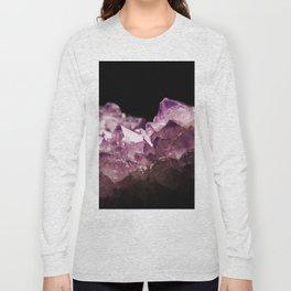Amethyst Quartz Long Sleeve T-shirt