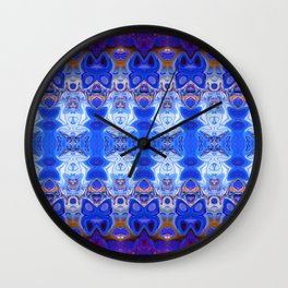 3D Abstract Fractal Wall Clock
