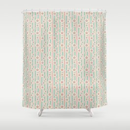 Deco Daisies Shower Curtain