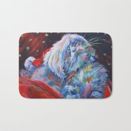 Has Santa been? Has he? Bath Mat