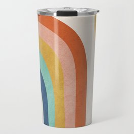 The Sun and a Rainbow Travel Mug