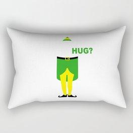 buddy elf christmas Rectangular Pillow