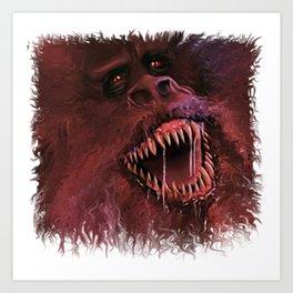 The Crate Beast Art Print