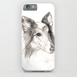 Remembering Maggie :: A Tribute to a Collie iPhone Case