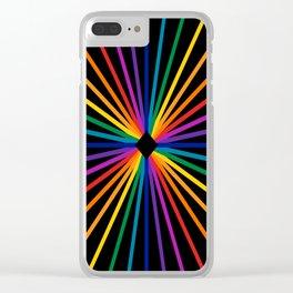 Spectrum Starburst Clear iPhone Case