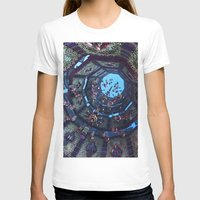 arabic T-shirts featuring arabic fractal by erosione