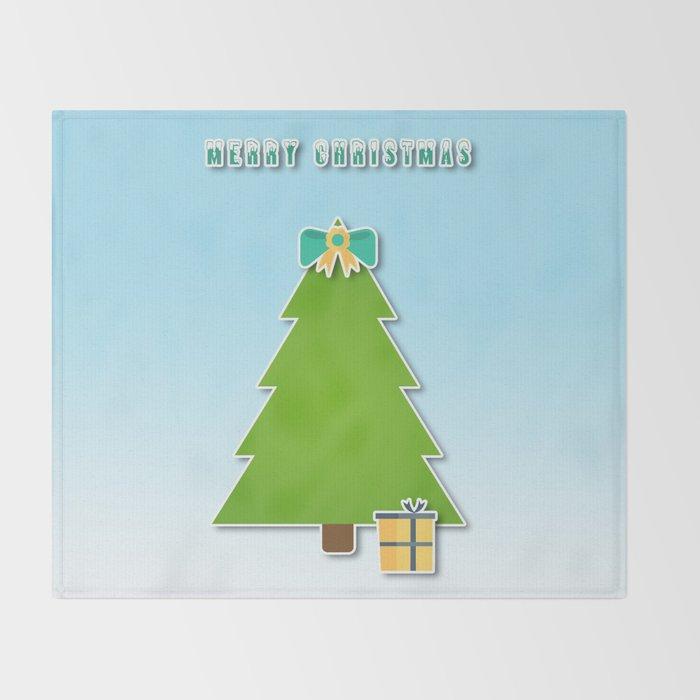 Christmas motif No 3 Throw Blanket