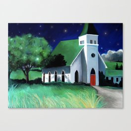 Church in Egypt, WA Canvas Print