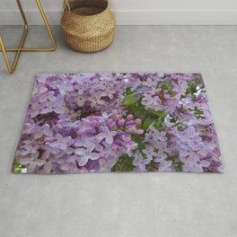 Lilac ~ Periwinkle Rug