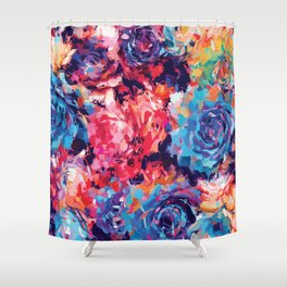 Fiona Floral Shower Curtain