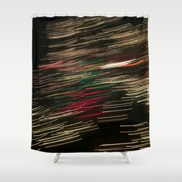 Electric Snowstorm 1 Shower Curtain