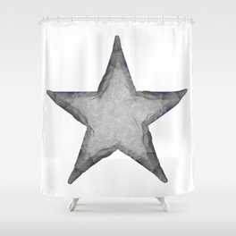Rock Star Shower Curtain