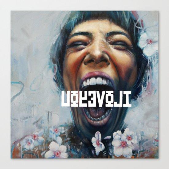 UOYEVOLI #1 Canvas Print