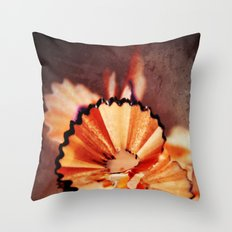 PENCIL CHIPS - ORIGINAL Throw Pillow