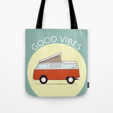 Adventure Mobile Van - Good Vibes Tote Bag