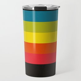 Retro Camera Color Palette Travel Mug