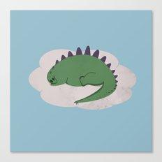 Asleep on a Cloud.  Canvas Print