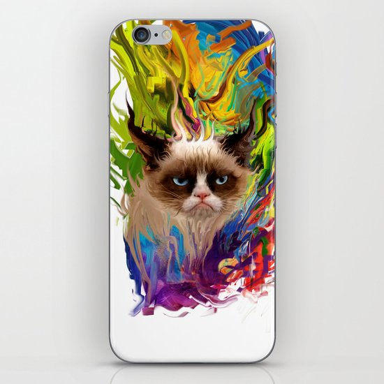grumpys rich inner world iPhone & iPod Skin