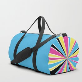 CMYK Star Burst Duffle Bag