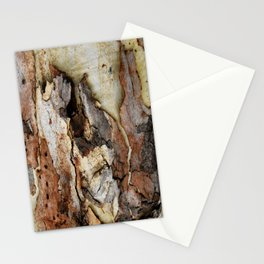 Colour of Tree bark Stationery Cards