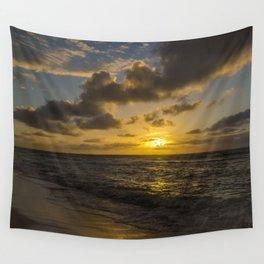 Golden Sunrise by Teresa Thompson Wall Tapestry