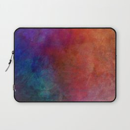Dimension abstract art by Ann Powell Laptop Sleeve