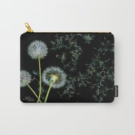 Blowing Dandelions, Scanography Carry-All Pouch